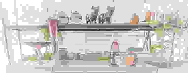 Sgabello Interiores Living roomAccessories & decoration Glass Pink
