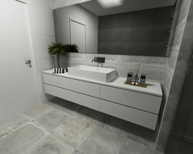 Minimalist style bathroom by Smile Bath S.A. Minimalist