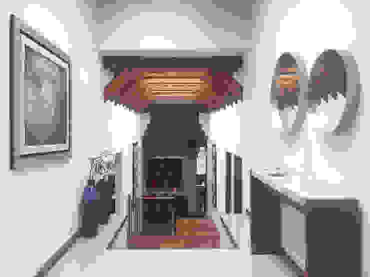 vestíbulo Pasillos, vestíbulos y escaleras modernos de xma studio Moderno