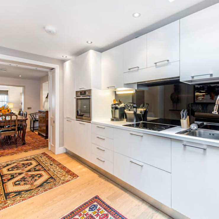 My First House Modern Kitchen by John Doe Architects Modern
