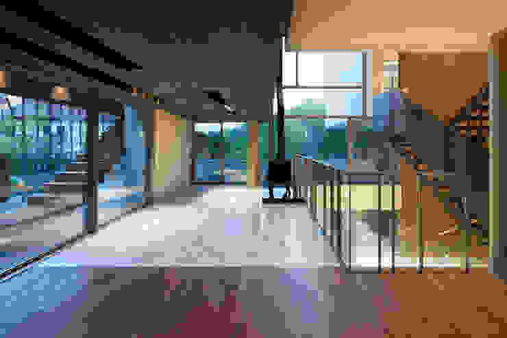 커스토마이집 (과천 단독 주택) 모던스타일 거실 by L'eau Design 모던