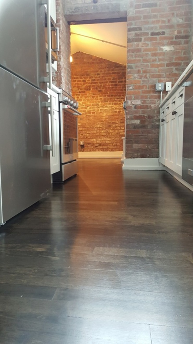Maple Wood—Water Pop Ebony color by Shine Star Flooring Classic