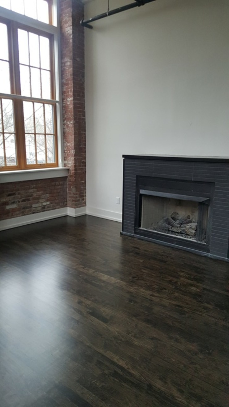 Maple Wood - Water Pop Ebony color by Shine Star Flooring Classic