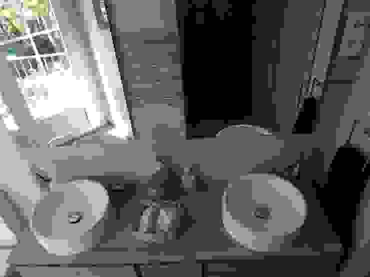 Reforma de baño contemporáneo Baños de estilo moderno de Almudena Madrid Interiorismo, diseño y decoración de interiores Moderno Cerámico