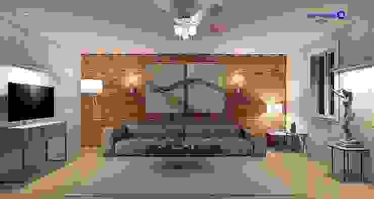 Living room in Loft style Modern Living Room by 'Design studio S-8' Modern