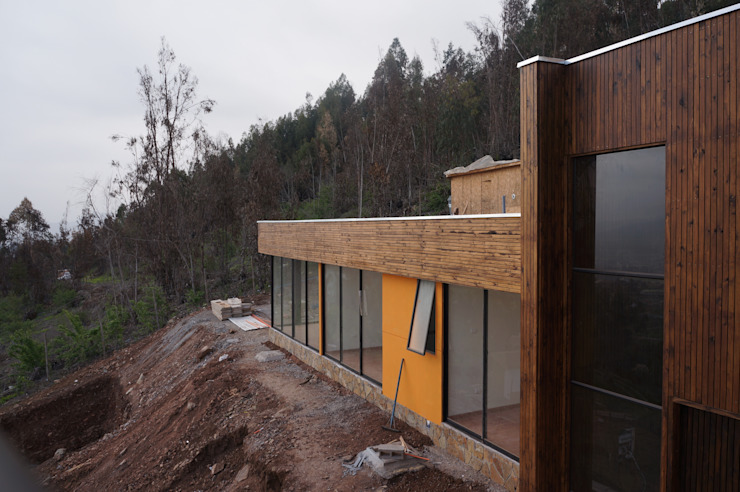 Dormitorios Casas estilo moderno: ideas, arquitectura e imágenes de Uno Arquitectura Moderno Madera Acabado en madera