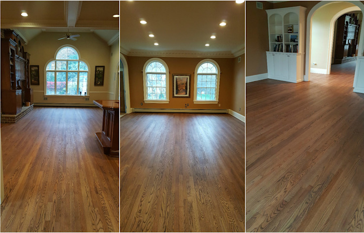 Red Oak with Rubio Monocoat finish by Shine Star Flooring Classic