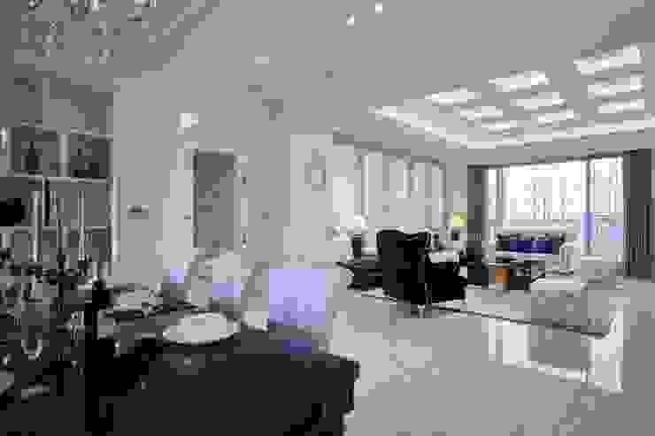 讓整體空間視覺更顯寬敞 根據 雅和室內設計 古典風