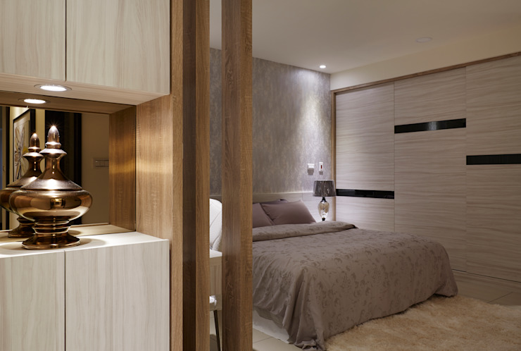 勾勒出優雅大器的富貴風範 根據 雅和室內設計 現代風
