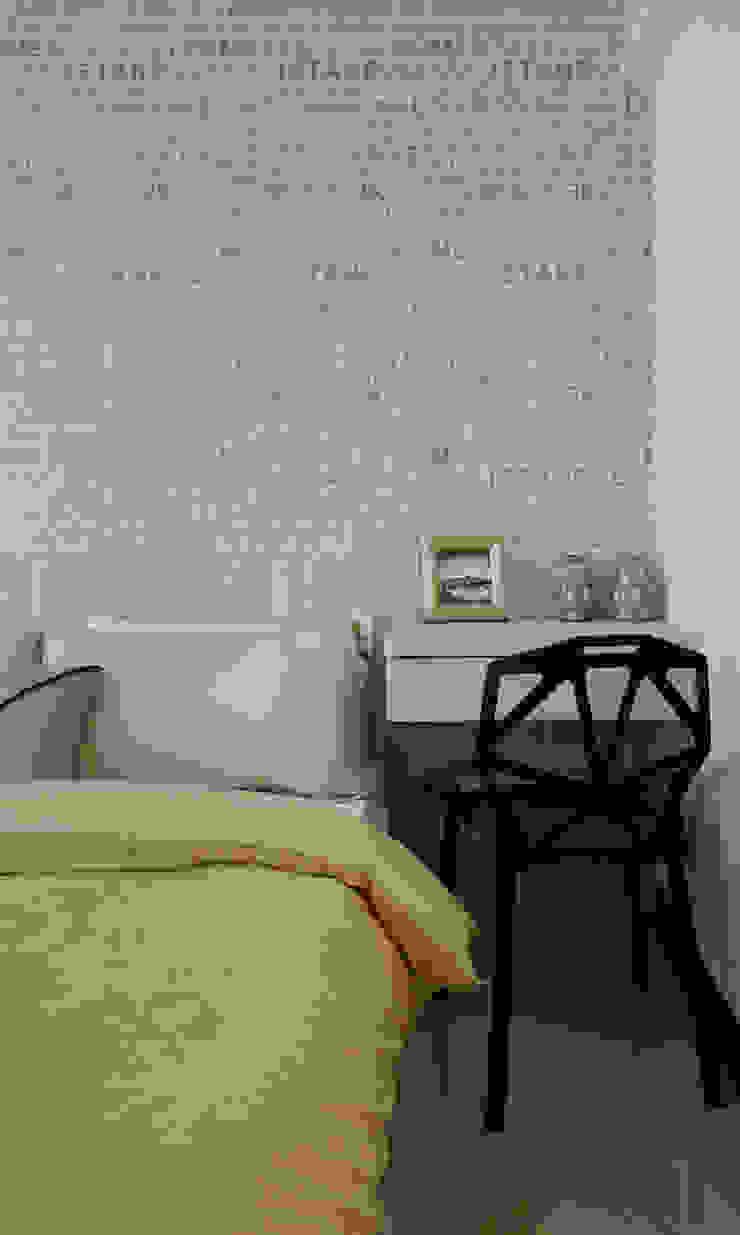 主臥室以浪漫情調為主軸 根據 雅和室內設計 現代風