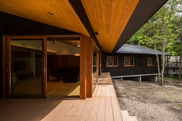 by アトリエ慶野正司 ATELIER KEINO SHOJI ARCHITECTS Eclectic Wood Wood effect