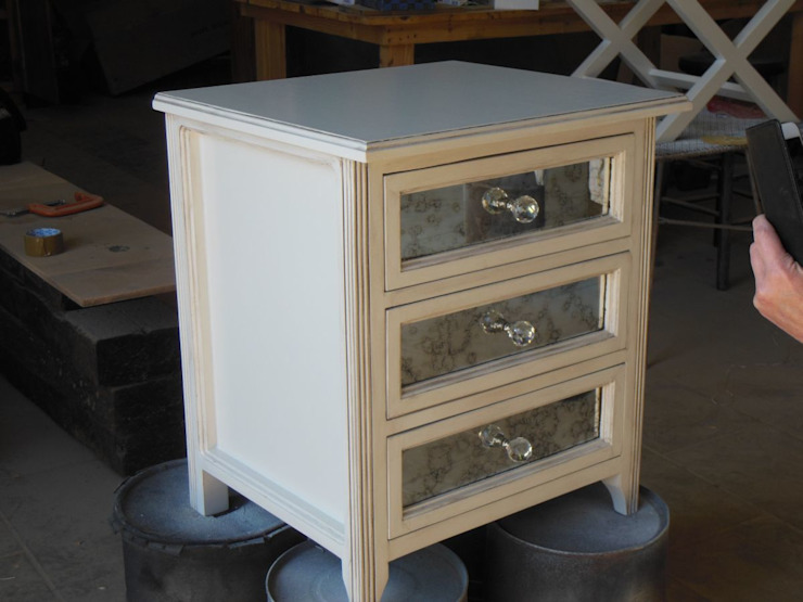 Bespoke pedestal: eclectic  by MELLOWOOD Furniture, Eclectic