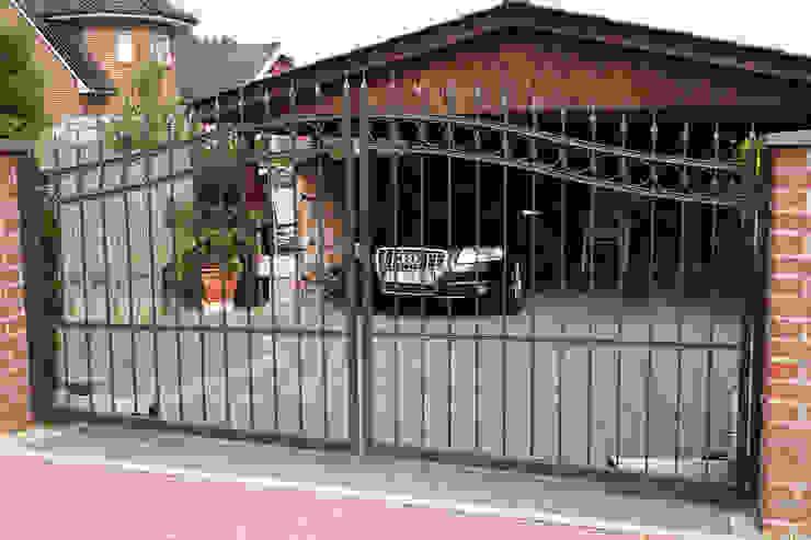 Nordzaun Giardino anteriore Ferro / Acciaio Grigio