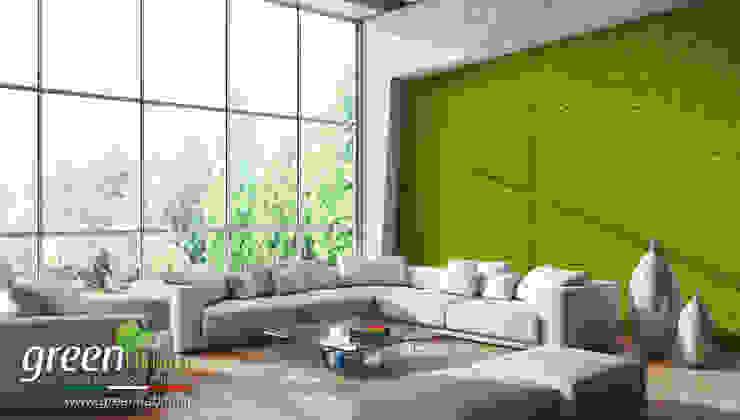 Soggiorno Con Pareti Verdi.Progettazione Di Giardini Verticali E Pareti Verdi In Emilia