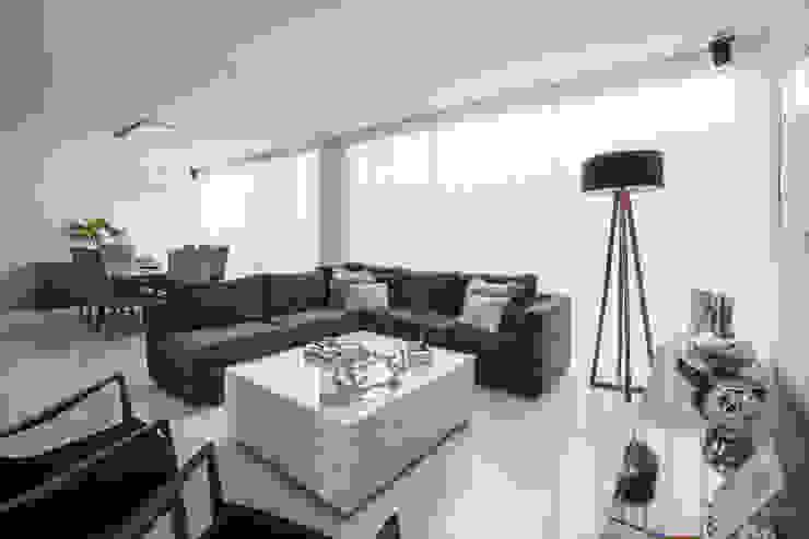 Sala Livings de estilo moderno de René Flores Photography Moderno