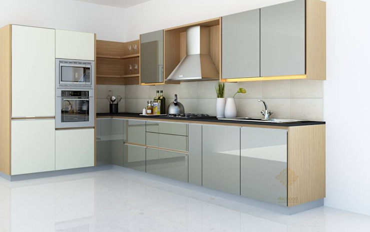 MIA Kitchen Decopad Interiors KitchenCabinets & shelves