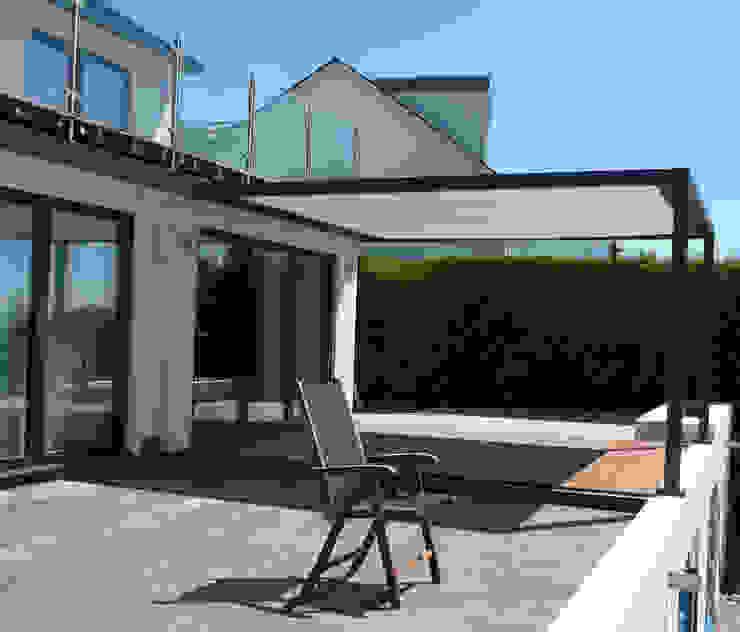 Terrace Cubola Modern Terrace by Flybird Installations Ltd Modern