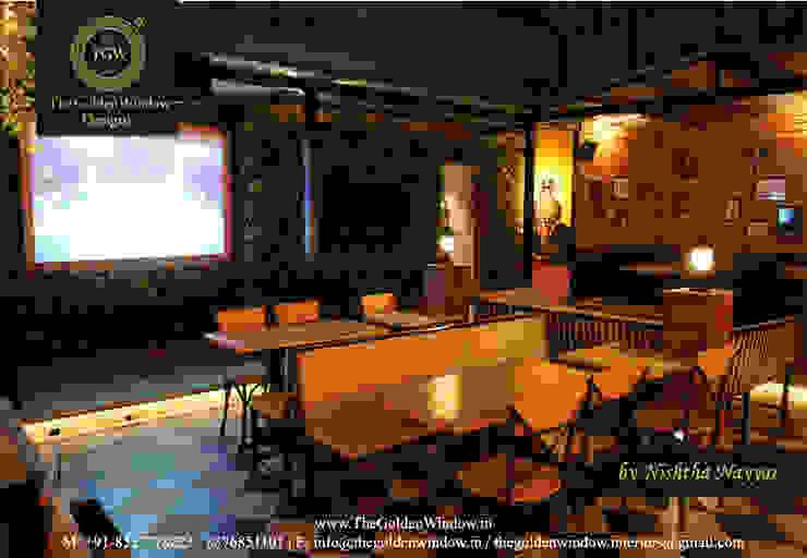 0124 Bar Exchange, Gurgaon: industrial  by The Golden Window Designs,Industrial