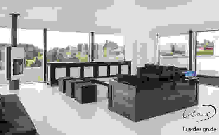 minimalist sofa Modern Living Room by Luis Design Modern Quartz