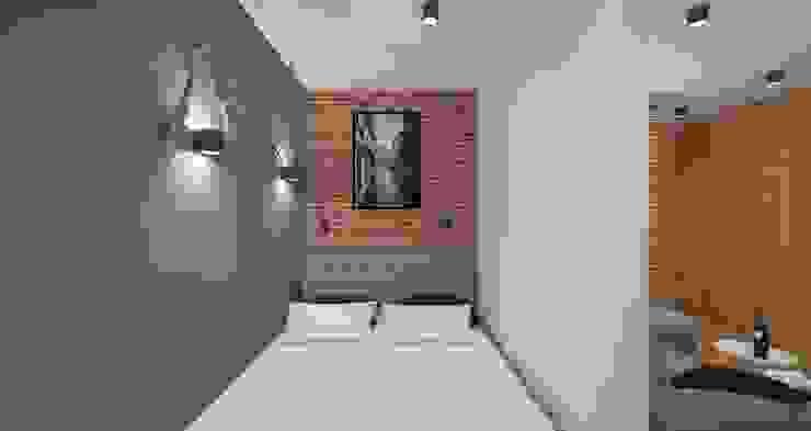 AIN projektowanie wnętrz Dormitorios de estilo escandinavo
