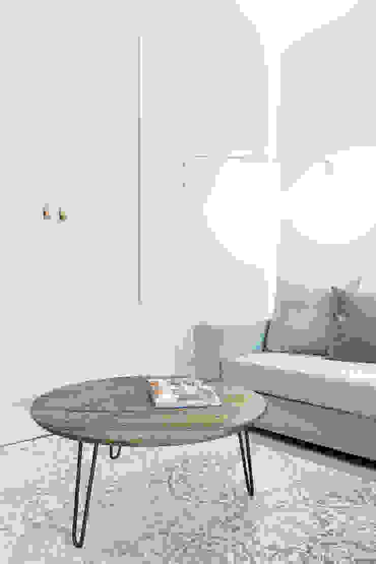 formativ. indywidualne projekty wnętrz Living room MDF White