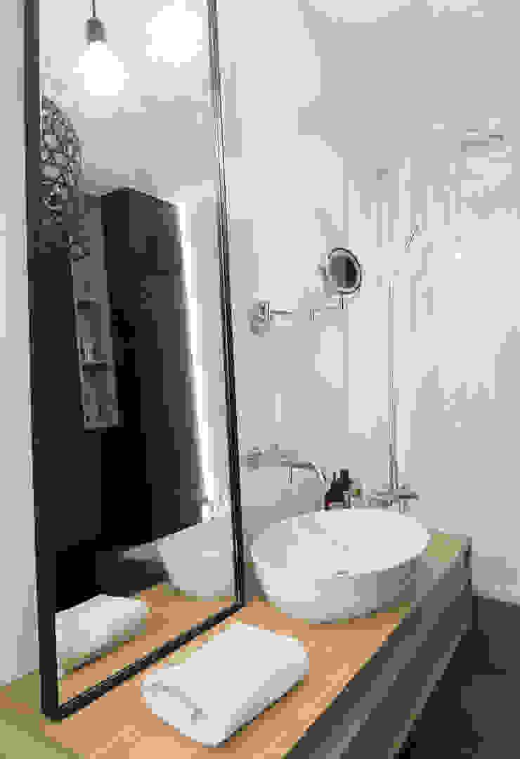 formativ. indywidualne projekty wnętrz Minimalist style bathroom Black