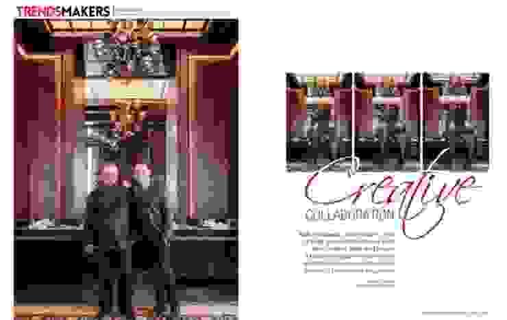Hemant Oberoi Restaurant - Lighting Modern bars & clubs by Jainsons Emporio Modern Aluminium/Zinc