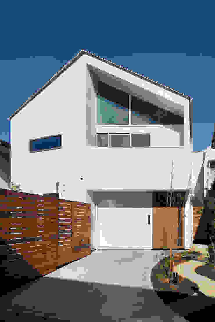 Modern houses by アトリエハコ建築設計事務所/atelier HAKO architects Modern