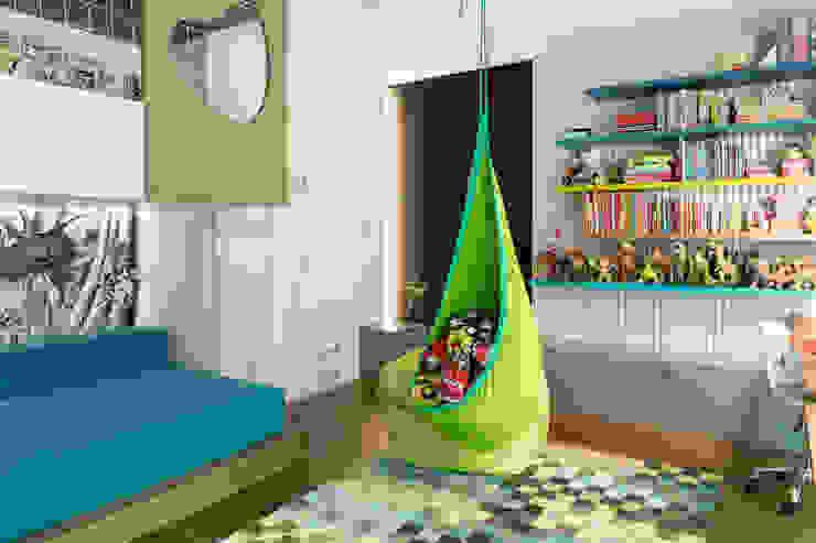 formativ. indywidualne projekty wnętrz Baby room Green