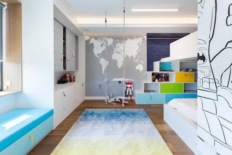 formativ. indywidualne projekty wnętrz Baby room Blue