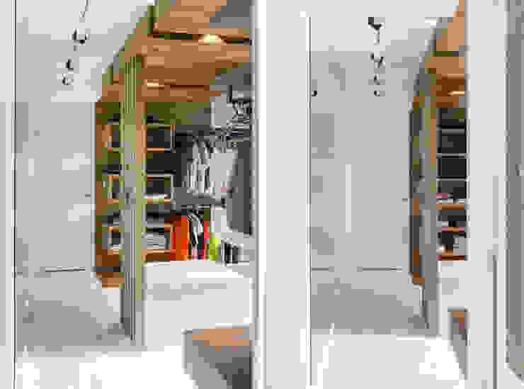 formativ. indywidualne projekty wnętrz Modern Dressing Room Wood effect