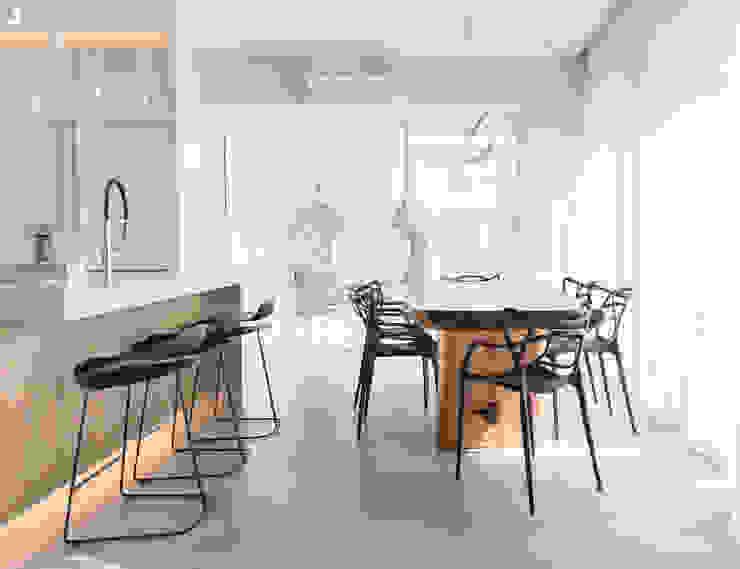 formativ. indywidualne projekty wnętrz Modern Dining Room White