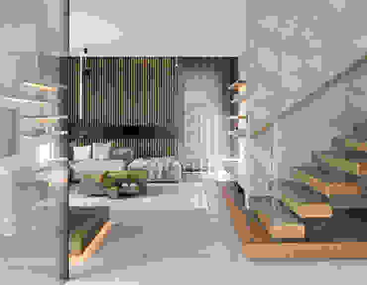 formativ. indywidualne projekty wnętrz Stairs Wood Wood effect