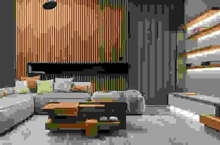 formativ. indywidualne projekty wnętrz Modern Living Room Wood Wood effect