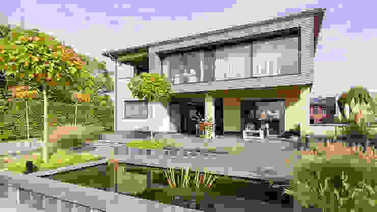 現代房屋設計點子、靈感 & 圖片 根據 CHORA architecten 現代風
