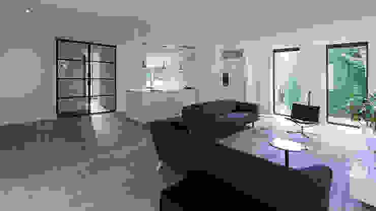 Ruang Keluarga Modern Oleh CHORA architecten Modern