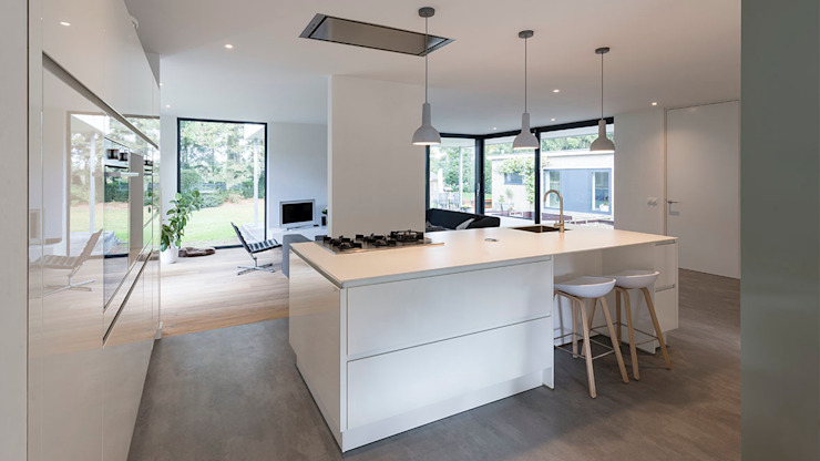 Dapur Modern Oleh CHORA architecten Modern