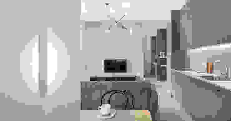 formativ. indywidualne projekty wnętrz Modern Living Room Grey