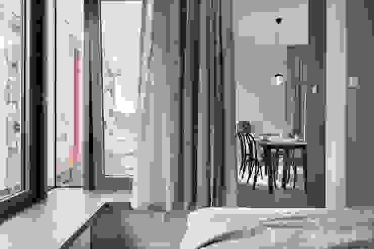 formativ. indywidualne projekty wnętrz Modern Dining Room Grey