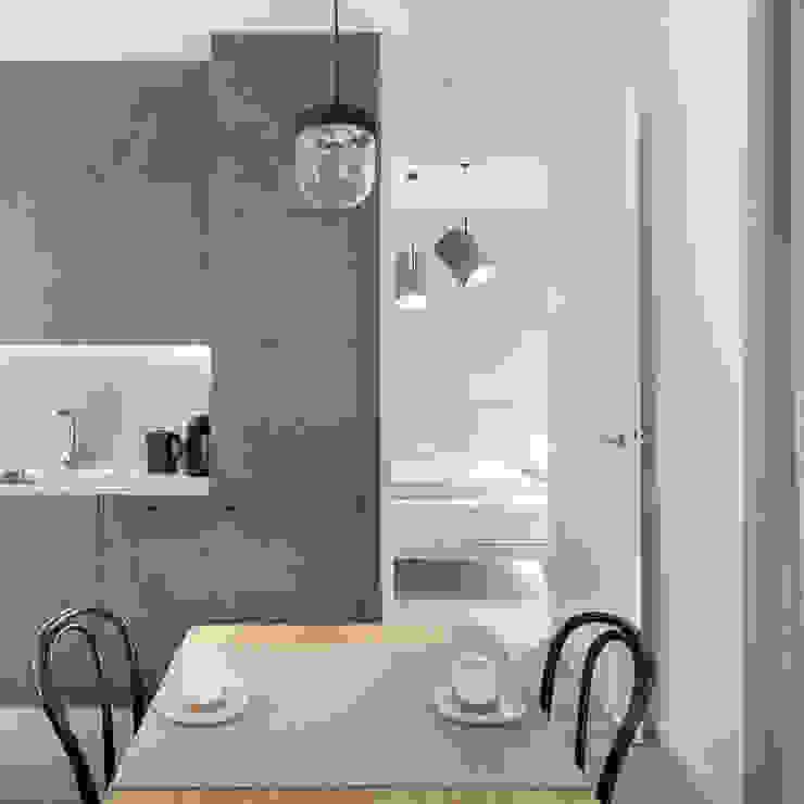 formativ. indywidualne projekty wnętrz Built-in kitchens Grey