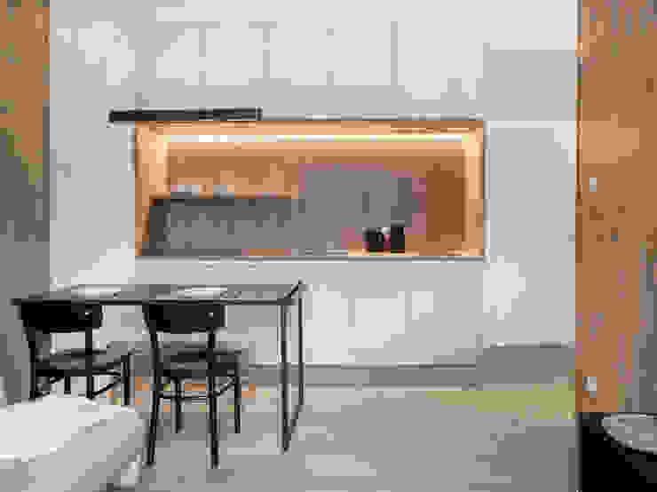 formativ. indywidualne projekty wnętrz Built-in kitchens White