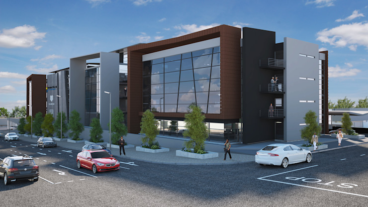 Commercial Development by AVR Architects Modern