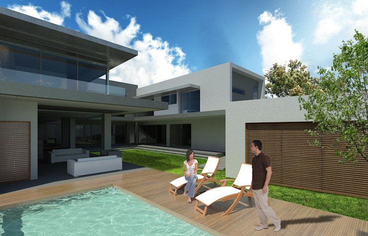 House Saranton 2 by AVR Architects Modern