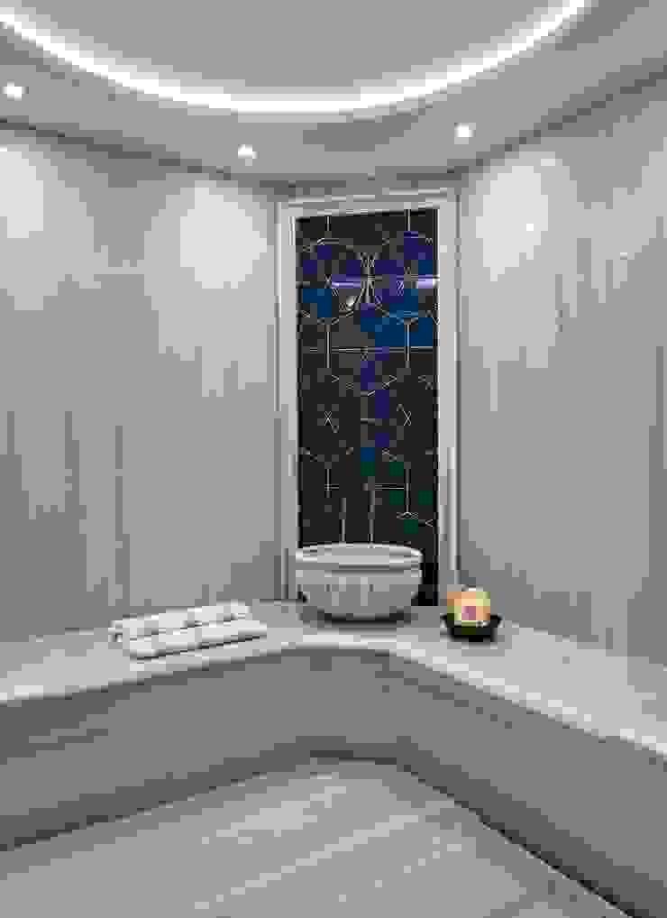 ABA HOUSE Modern bathroom by Esra Kazmirci Mimarlik Modern Marble