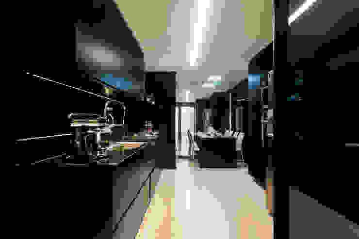 Aparatamento de Cobertura Cozinhas modernas por Daniela Andrade Arquitetura Moderno