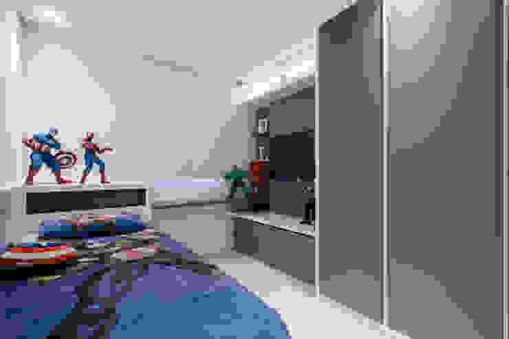 Aparatamento de Cobertura Quarto infantil moderno por Daniela Andrade Arquitetura Moderno