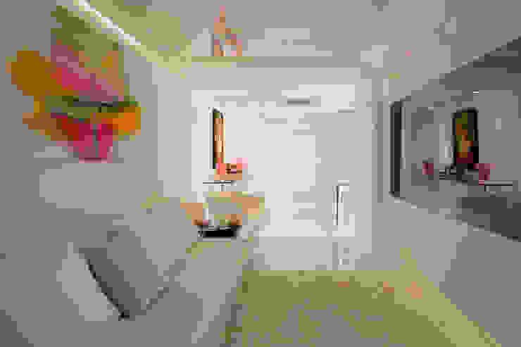 Aparatamento de Cobertura Salas de estar modernas por Daniela Andrade Arquitetura Moderno