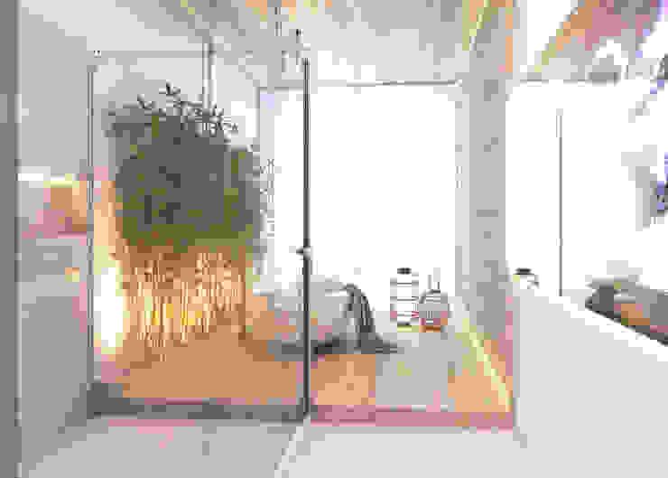 Residencial Unifamiliar JN Daniela Andrade Arquitetura Banheiros modernos