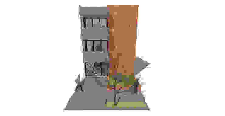 Fachada Edificio Multifamiliar_Ciudad Modelo de MODOS Arquitectura Minimalista