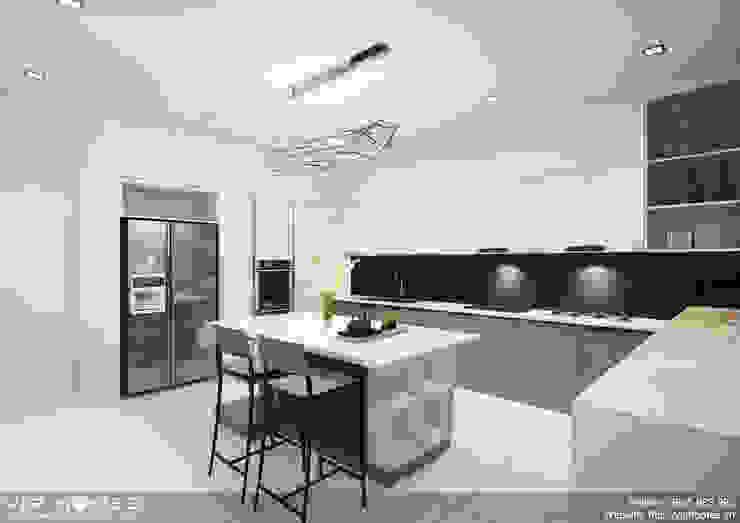 Thiết kế nội thất phòng bếp bởi homify